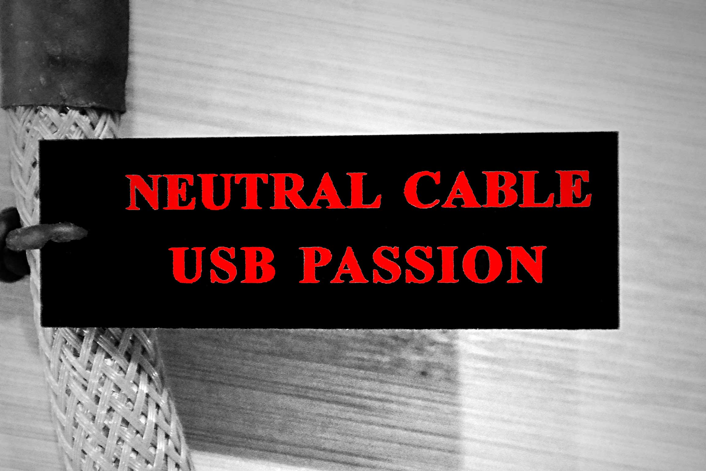 NEUTRAL CABLE USB PASSION